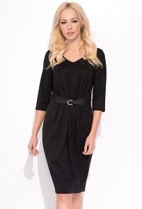 Чёрное платье с рукавом 3/4 Zaps Blair