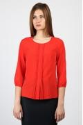 Красная блузка Emka Fashion b 2170/livana