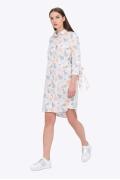 Хлопковое летнее платье-рубашка Emka PL-581/virginiya