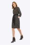 Платье с эффектом букле Emka PL866/mirabilis
