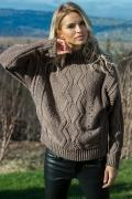 Теплый шерстяной свитер Fobya F605
