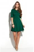 Коктейльное платье зелёного цвета Donna Saggia DSP-228-44t