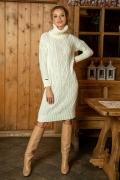 Вязаное платье Fobya F611