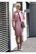 Женский розовый жакет Flaibach 001S7