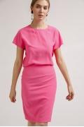 Юбка-карандаш ярко-розового цвета Emka S663/cristall