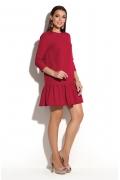 Платье с воланом Donna Saggia DSP-245-70
