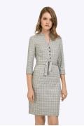 Платье в мелкую клетку Emka PL794/hasley