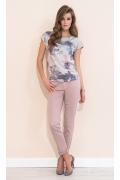 Летняя блузка с цветочным принтом Zaps Frezja