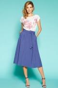 Летняя юбка синего цвета Zaps Julieta