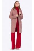 Демисезонное пальто Emka R018/limecrime