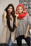 Капюшон шарф-восьмерка Gulyann Айлин