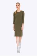 Платье цвета хаки Emka Fashion PL700/oasis