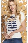 Лёгкая трикотажная блузка Zaps Flavia