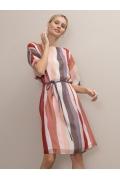 Легкое шифоновое платье прямого силуэта Emka PL1033/kinda