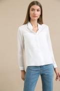 Белая блузка в офисном стиле Emka B2260/zvenislava