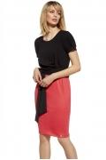 Летнее двухцветное платье Ennywear 230048