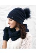 Комплект шапка + снуд + перчатки Kamea Fiuggi