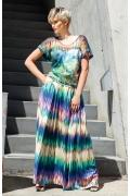 Длинная летняя трикотажная юбка Flaibach 006S6