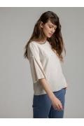 Блуза свободного кроя Emka B2533/expert