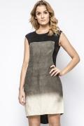 Летнее льняное платье удлиненное сзади Enny 230191
