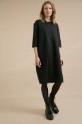 Платье-миди черного цвета Emka PL845/welu
