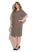 Летнее платье из тонкой плательной ткани Donna Saggia DSPB-04-21