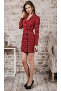 Платье-пиджак длинной мини Donna Saggia DSP-375-96