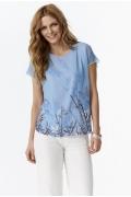 Голубая блузка Sunwear Y07-2-15