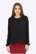 Чёрная блузка Emka Fashion b 2188/amber