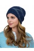 Синяя двойная шапка Landre Аннет