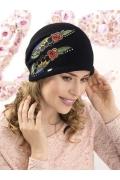 Женская шапка-бандана с аппликацией Willi Eserta