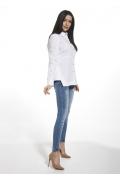 Белая женская рубашка Ennywear 250180