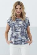 Летняя блузка из вискозы Sunwear Q65-2-36