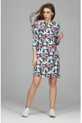Платье простого кроя Donna Saggia DSP-249-49 (коллекция 2018)