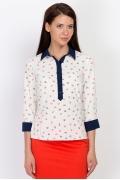 Блузка с якорями Emka Fashion b 2127/yarmila