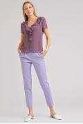 Блузка сиреневого цвета Emka B2413/revival
