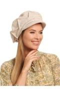 Женская шерстяная кепка с подкладкой Landre Флорет