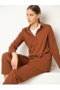 Женская трикотажная рубашка Emka B2465/samir