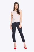 Зауженные женские брюки Emka D-024/carmelita