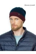 Мужская тонкая шапка с отворотом Landre Фауст