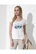 Женская блузка с фольгированием Sunwear I44-2