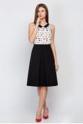 Чёрная юбка Emka Fashion 591-petti