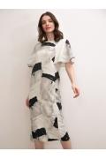 Платье с коротким рукавом Emka PL1099/hanoi