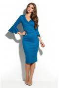 Синее платье Donna Saggia DSP-234-90t