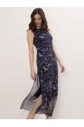 Тонкое лёгкое шифоновое платье Emka PL1055/lars