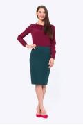 Женская юбка Emka Fashion 663/grenata