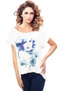 Летняя блузка удлиненная сзади Enny 190022