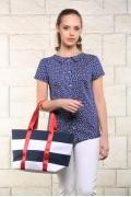 Летняя блузка с воротничком Issi Bravissimo 171169