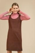 Платье-сарафан в клетку Emka PL943/susan