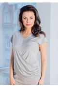Красивая вечерняя блузка TopDesign Premium PA7 31